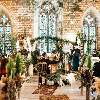 Niebieskie Drzwi-  pracownia dekoracji, piękne śluby.